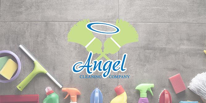 Angel Cleaning Company slide 1