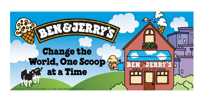 Ben & Jerry's Ice Cream slide 1