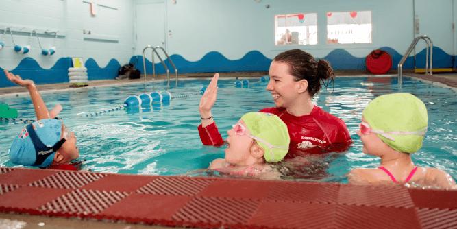 British Swim School slide 3
