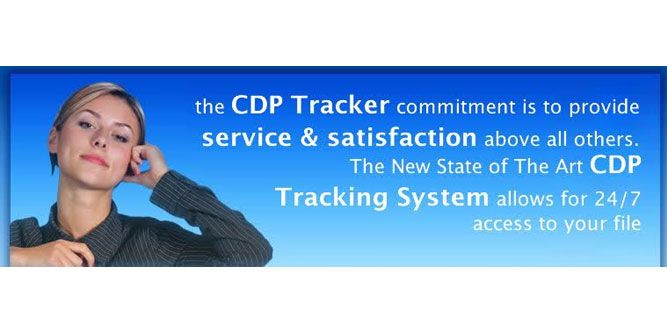 CDP Tracker slide 2