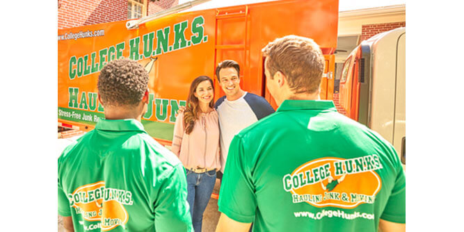 College Hunks Hauling Junk & Moving slide 8