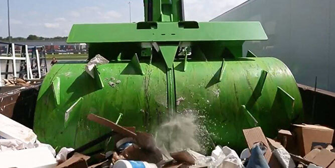 Crushr - Mobile Trash Compacting slide 1