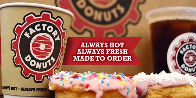 Factory Donuts slide 1