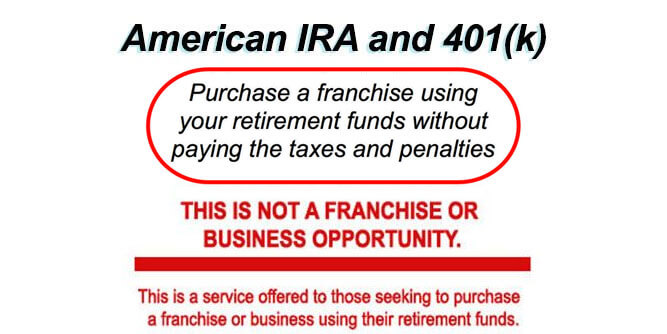 Purchase A Franchise Using Your Retirement Plan slide 1