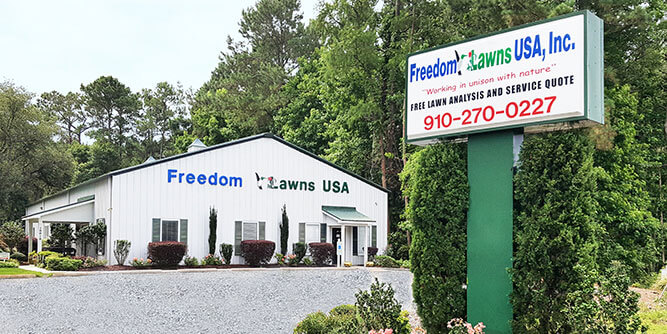 Freedom Lawns USA slide 6