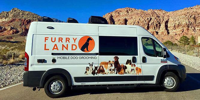 Furry Land - Mobile Pet Grooming slide 1