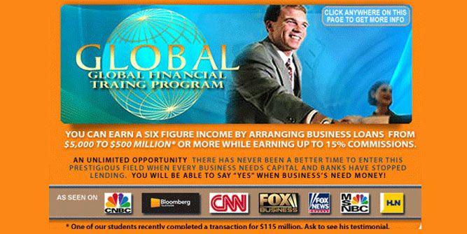 Global Financial Training Program slide 1