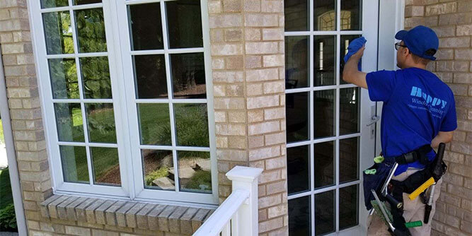 Happy Window Cleaning slide 1