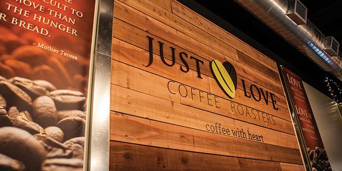 Just Love Coffee slide 1
