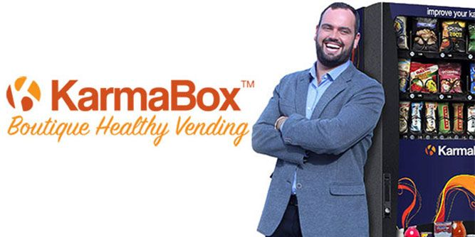 KarmaBox - Boutique Healthy Vending slide 1