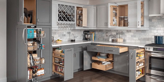 Kitchen Wise - Cabinet, Pantry, & Bathroom Organization  slide 1