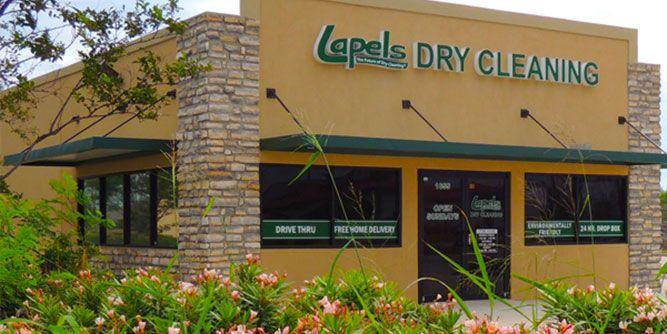 Lapels Dry Cleaning slide 1