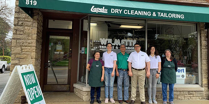 Lapels Dry Cleaning slide 2