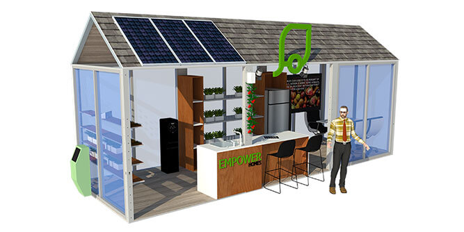 Mobile Greens - Empowered Tiny Home slide 2