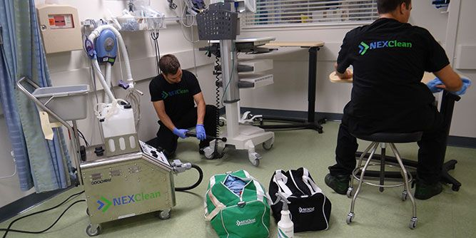 NEXClean - Specialty Cleaning Solutions slide 2