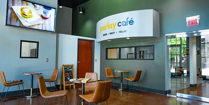 Parlay Café - Work, Meet, Relax slide 8