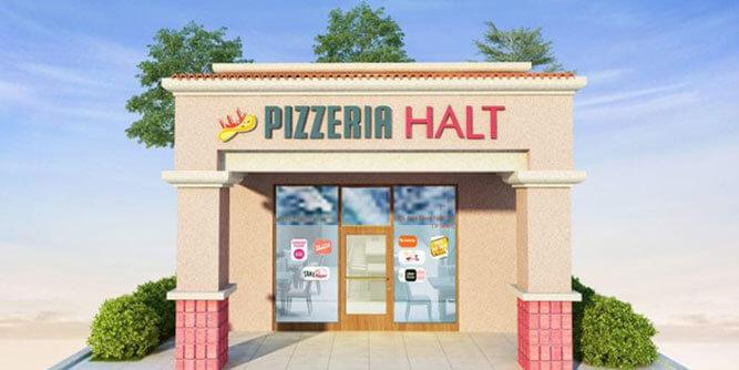 Pizzeria Halt - Vegan/Veggie Pizza slide 3