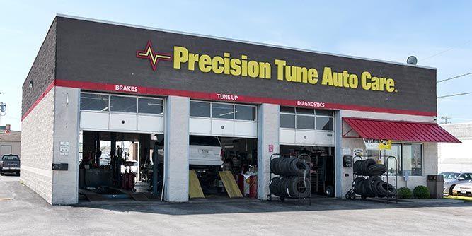 Precision Tune Auto Care slide 1