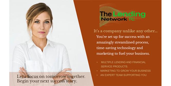 The Lending Network slide 1