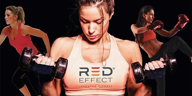 Red Effect Infrared Fitness slide 1
