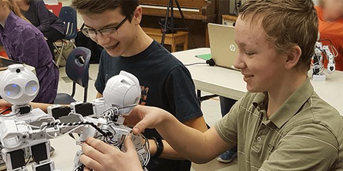 Robots.Education slide 2
