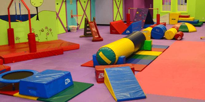 Romp n' Roll - Gym. Art. Music. slide 1