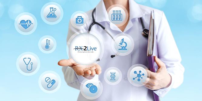 RX2Live - Medical Services - IL slide 1