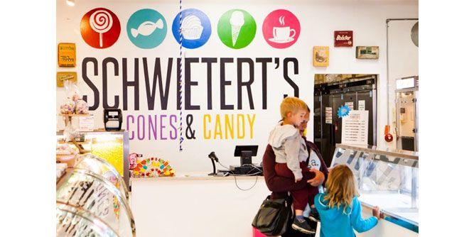Schweitert's Cones & Candy slide 1