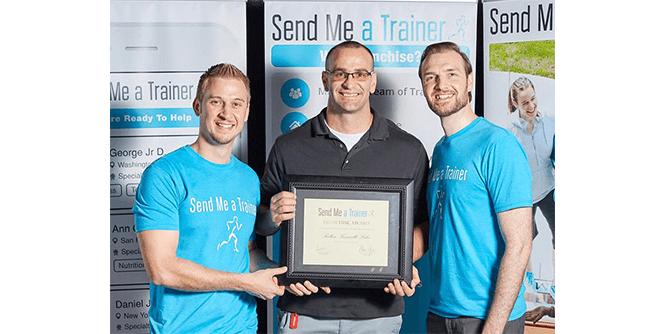 Send Me A Trainer slide 1