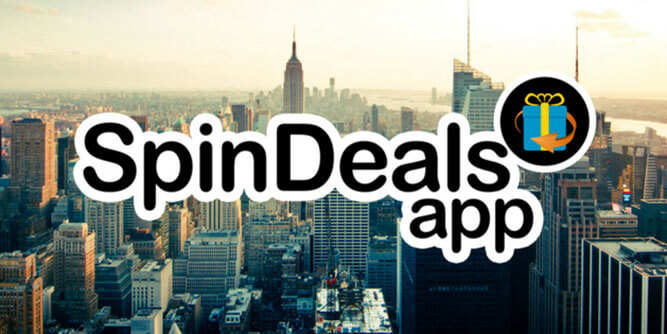 SpinDeals app slide 1