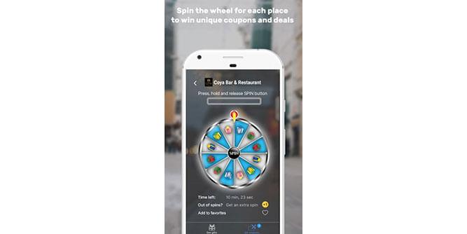 SpinDeals app slide 3