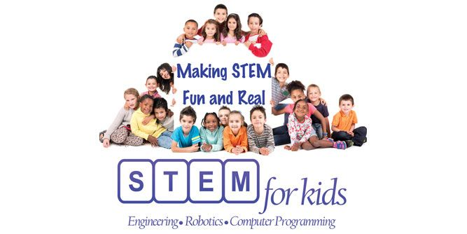 STEM for Kids slide 1