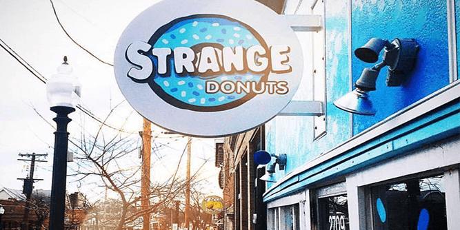 Strange Donuts slide 1