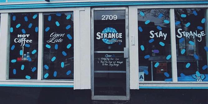 Strange Donuts slide 7