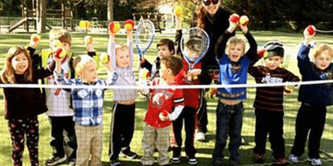 Tennis Time - The Ultimate Kids Sports Business slide 1