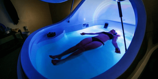 The Float Spa X Wellness Centers slide 1