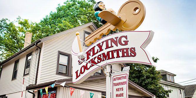 The Flying Locksmiths slide 2