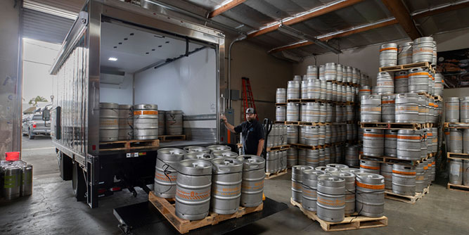 Total Beverage - Brewery Distribution slide 1