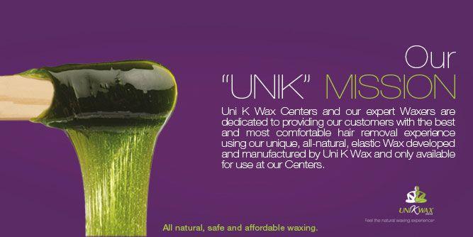 Uni K Wax Centers slide 11