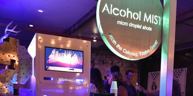 Vapshot, Inc. - Vaporized and Atomized Beverage Systems  slide 6