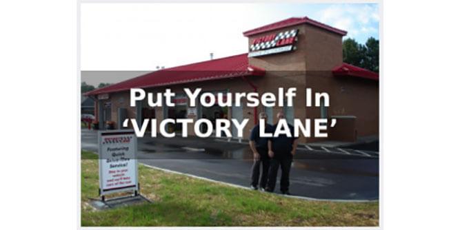 Victory Lane Quick Oil Change slide 4