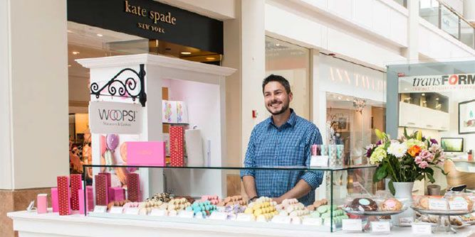 WOOPS! Macaron Boutique Kiosks and Bakeshops slide 6