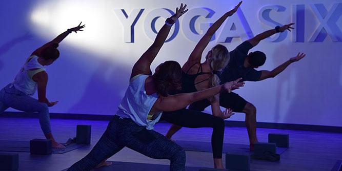 YogaSix slide 1