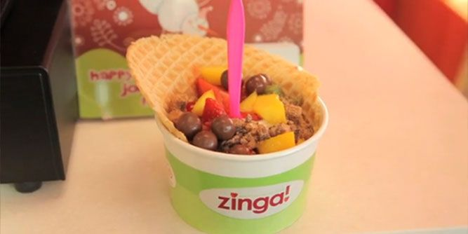 Zinga Frozen Yogurt slide 3