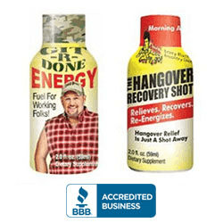 Git-R-Done Energy and Hangover Recovery Shot