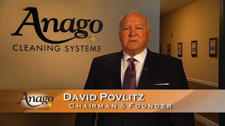 Hear from the Founder of Anago Cleaning Systems