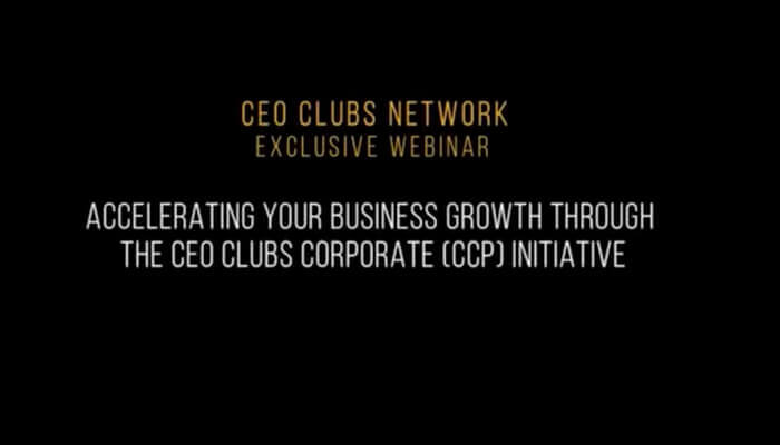 CEO Clubs Corporate Package