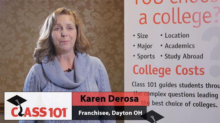 Class 101 Franchisee Testimonial: Karen Derosa
