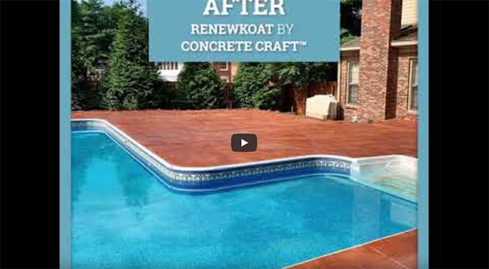 RenewKoat by Concrete Craft Before and After