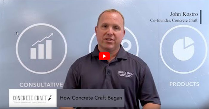 Meet John Kostro, Co-Founder of Concrete Craft